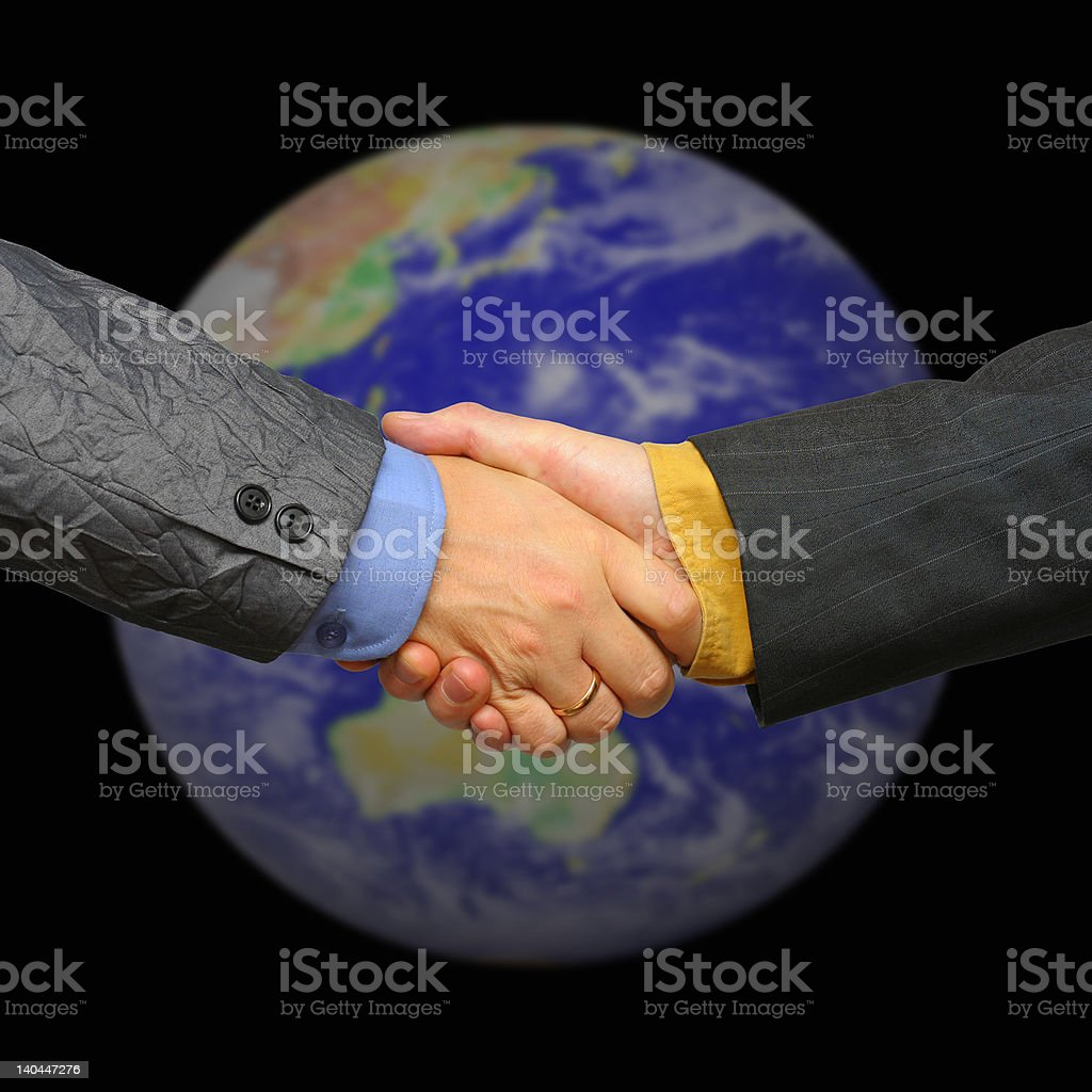 global deal and business royalty-free stock photo