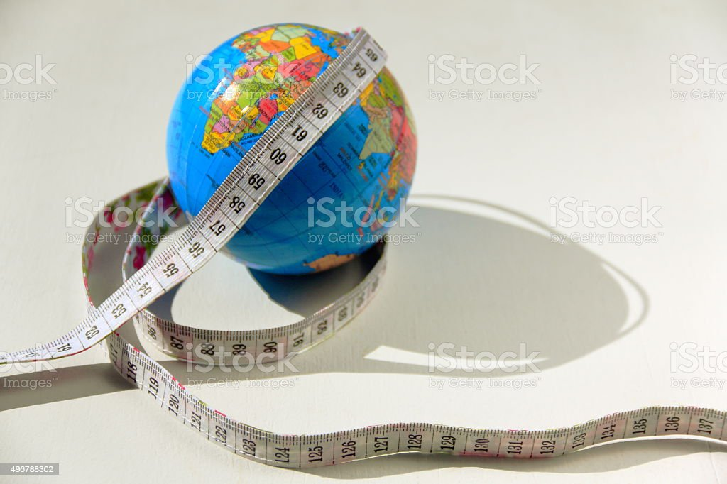 Global diet concept stock photo