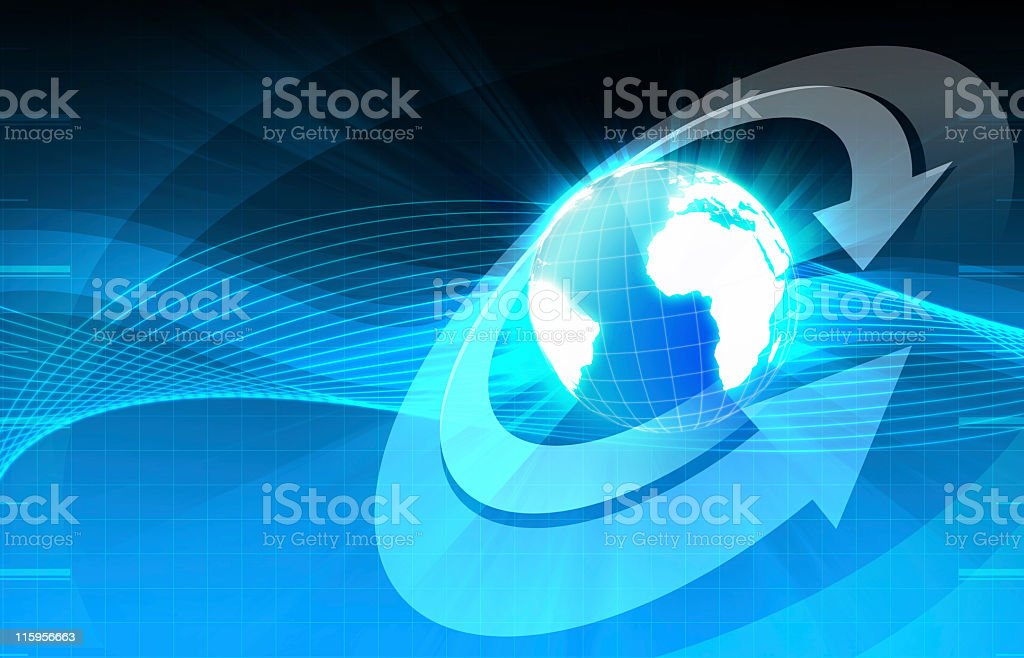 Global dimensions royalty-free stock photo