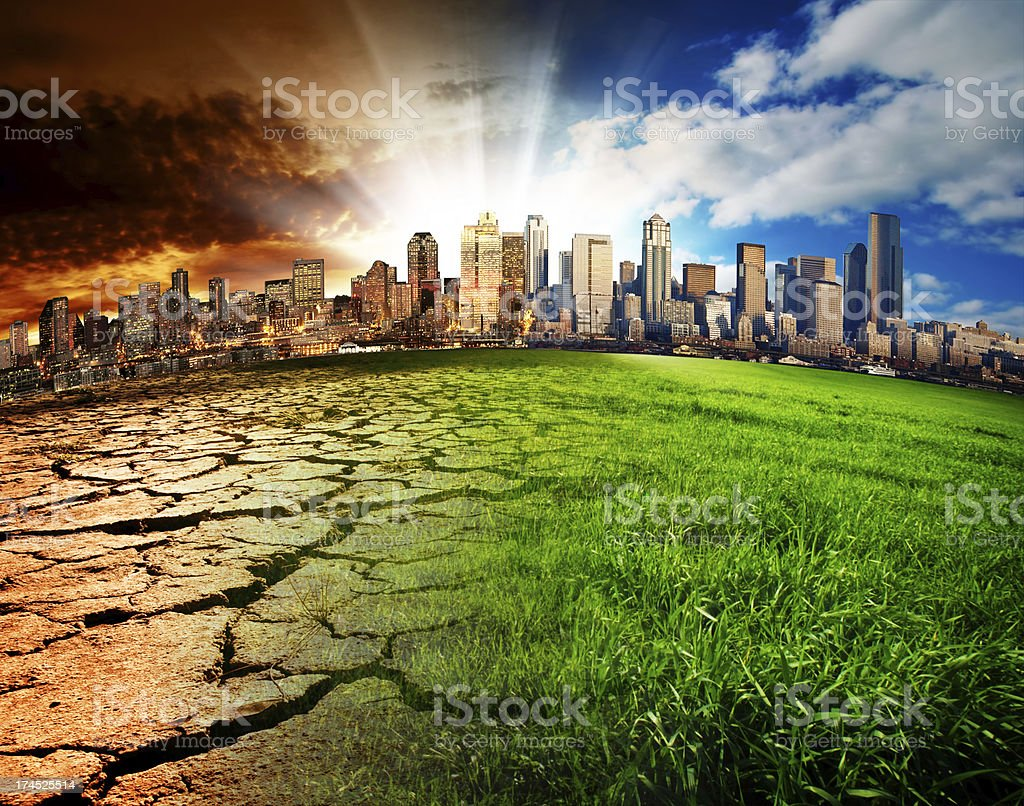 Global Disaster stock photo