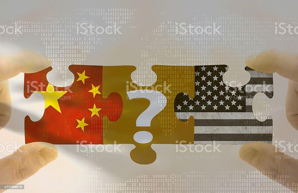 Global economic prospects stock photo