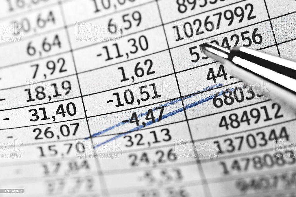 Global economy crisis. stock photo
