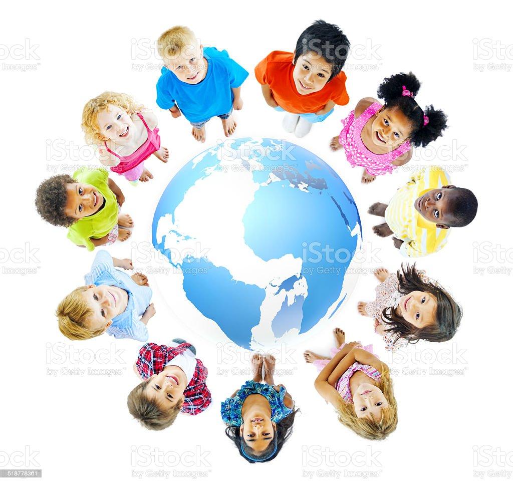Global Education stock photo