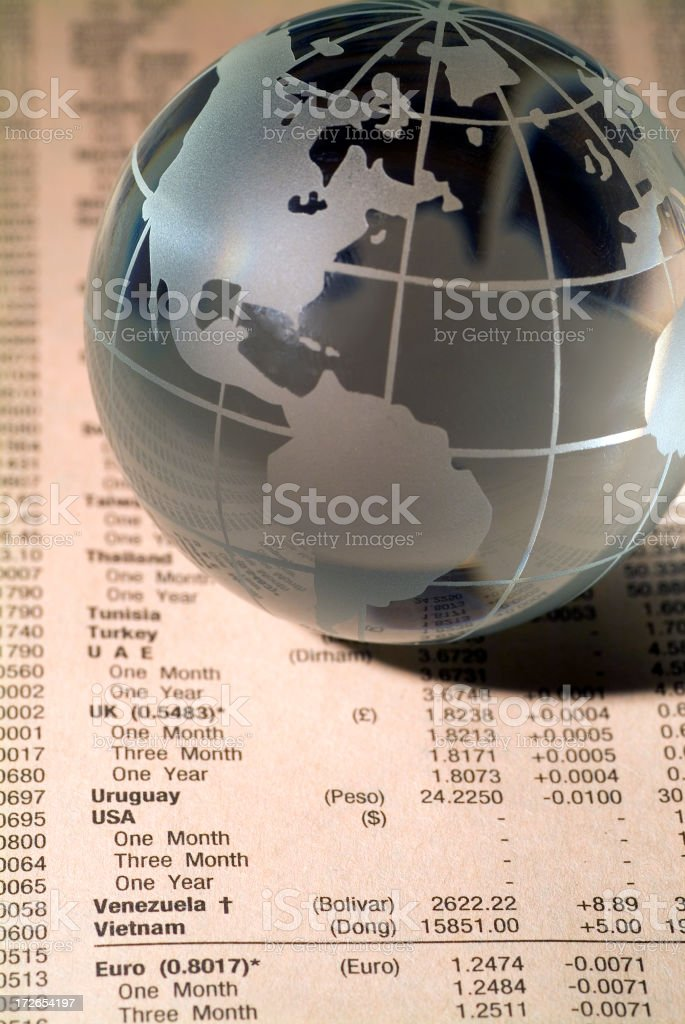 Global Finance 02 royalty-free stock photo