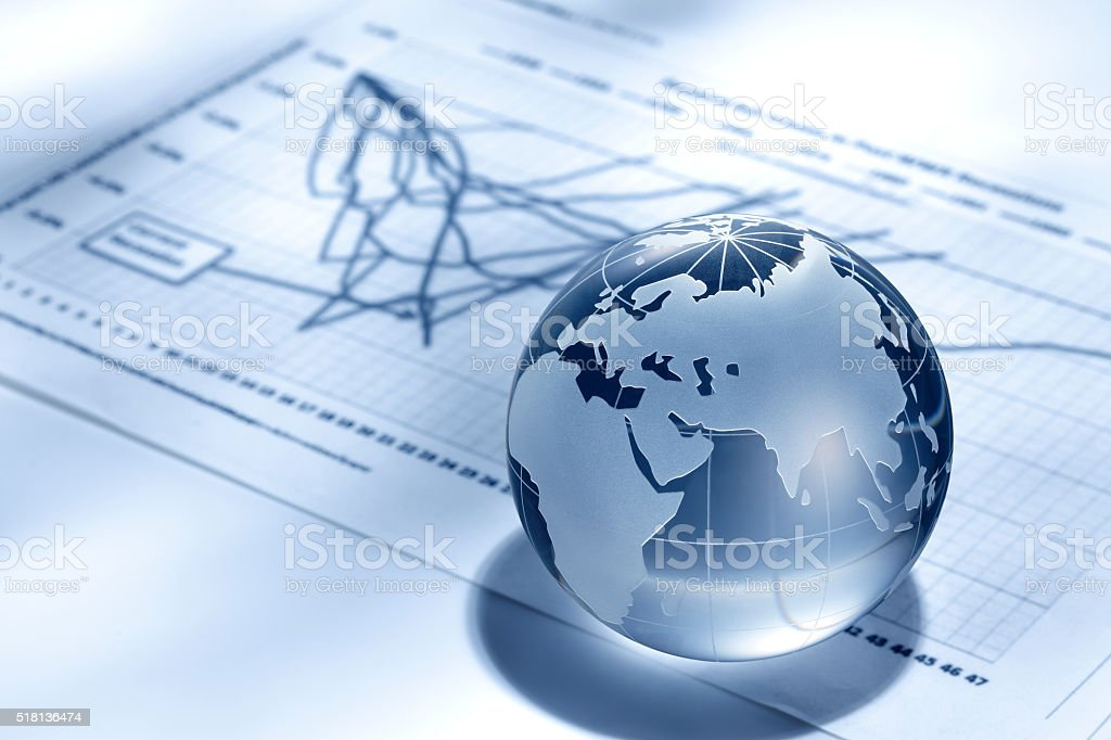 Global finance stock photo