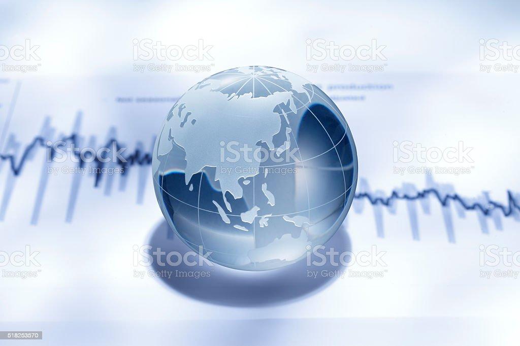 Global finance stock photo