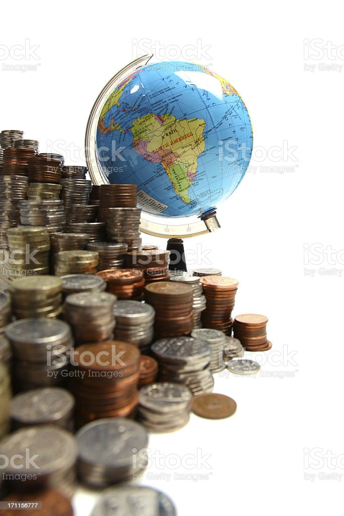 Global finances royalty-free stock photo