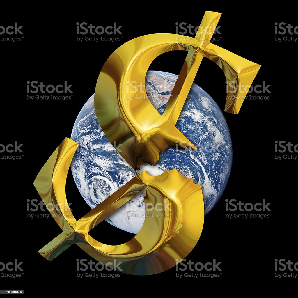 Global financial crisis. Elements of this image furnished by NAS stock photo