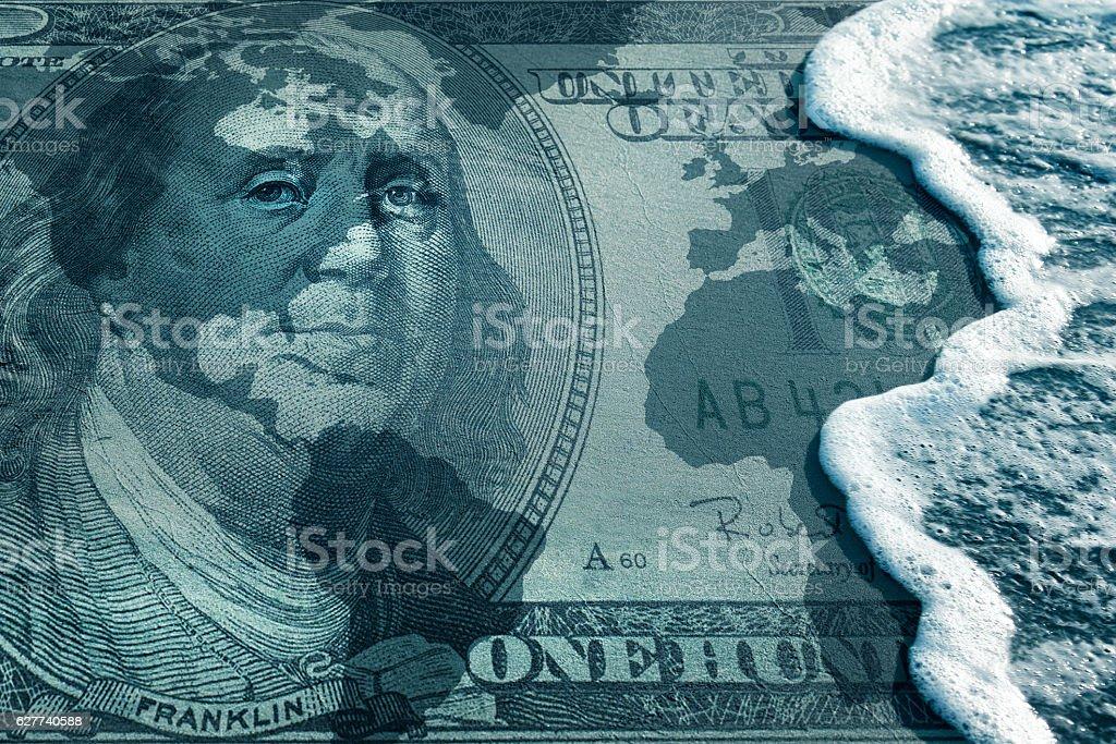 global financial crisis stock photo