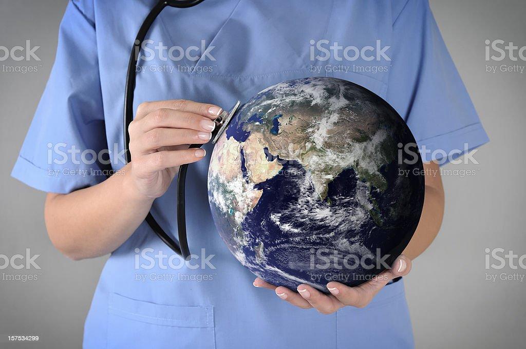 Global Health royalty-free stock photo