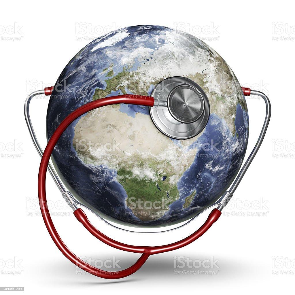 Global Healthcare - European Eastern Hemisphere stock photo