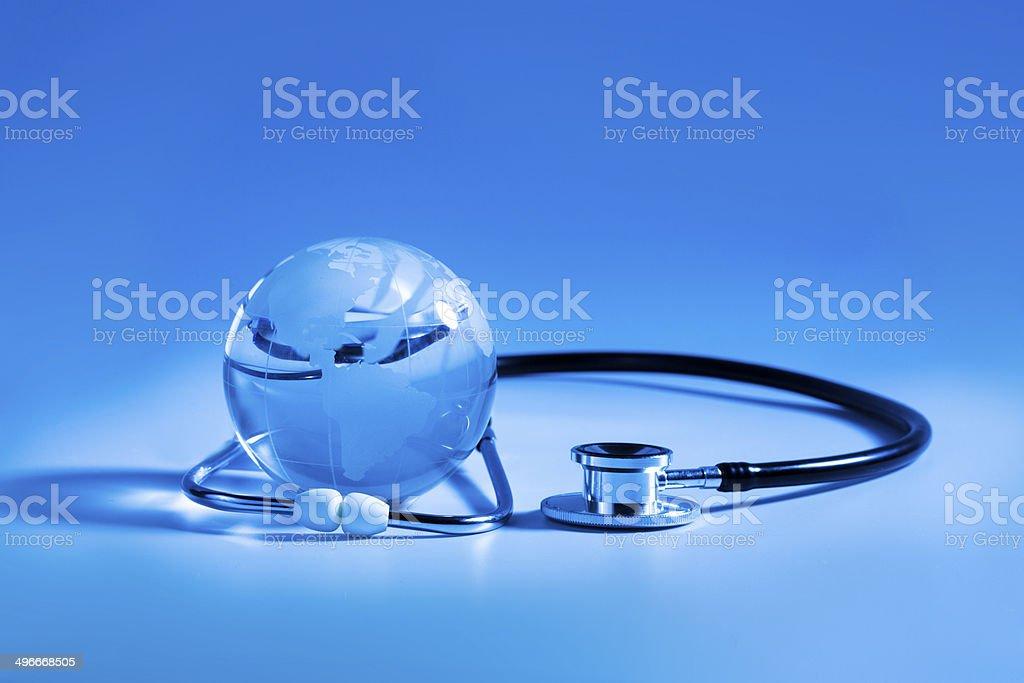 Global healthcare - Stock Image stock photo
