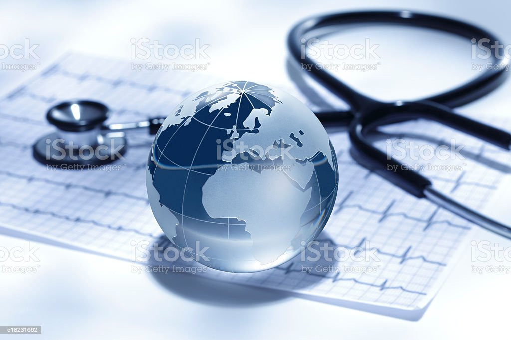 Global healthcare/Europe and Africa, stock photo