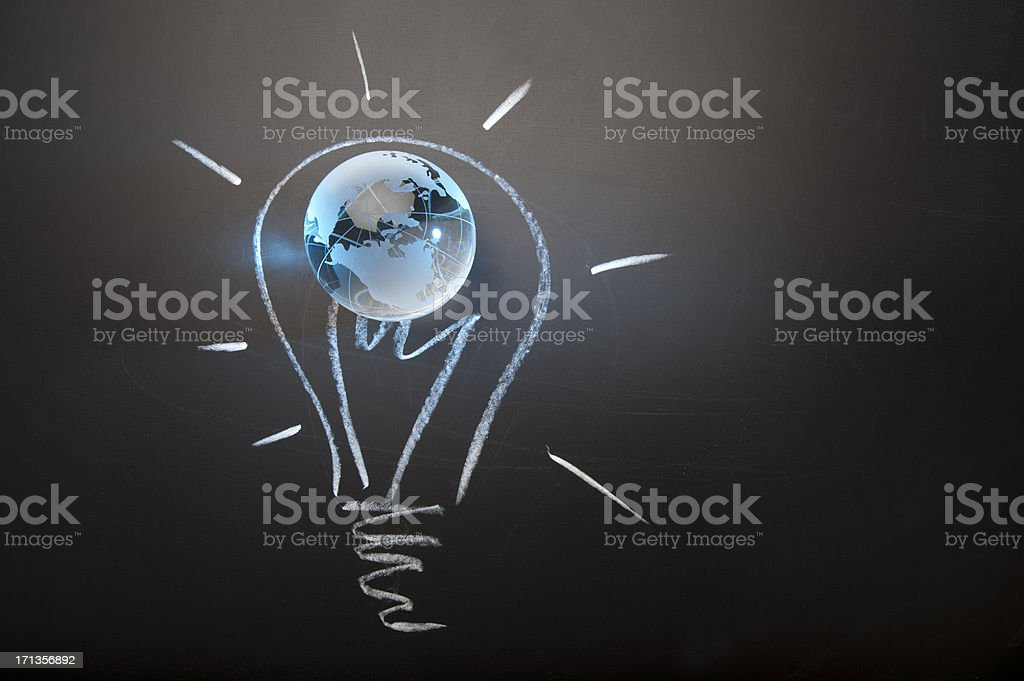 Global ideas and innovation concept royalty-free stock photo