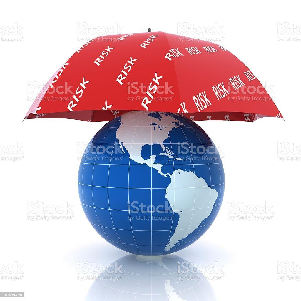Global Insurance royalty-free stock photo