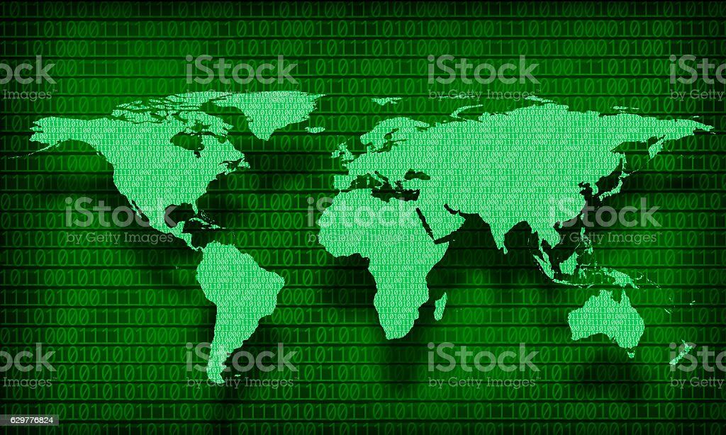 global internet connectivity stock photo