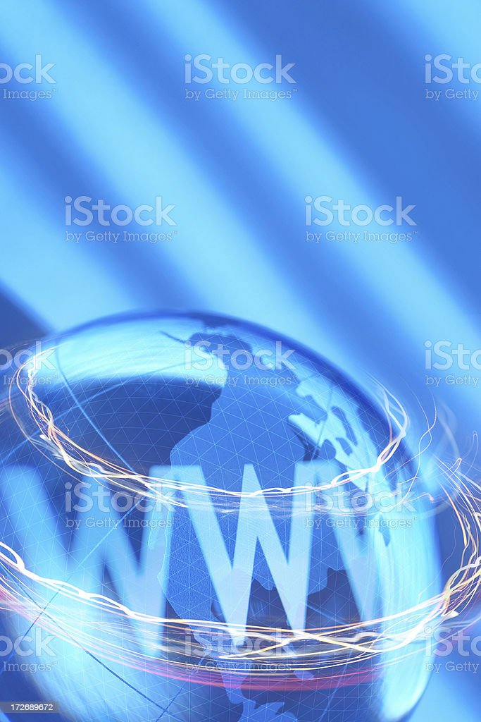 Global Internet royalty-free stock photo