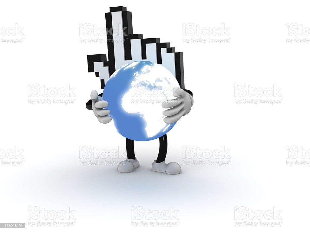 Global internet stock photo