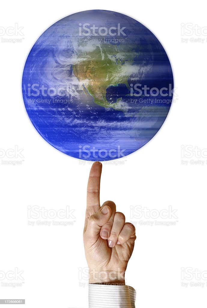 Global management royalty-free stock photo