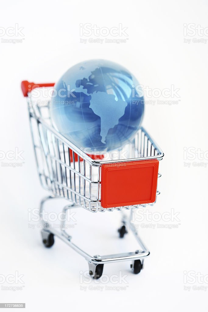 Global Market royalty-free stock photo
