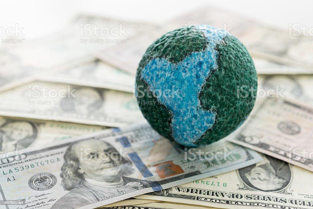 global money stock photo