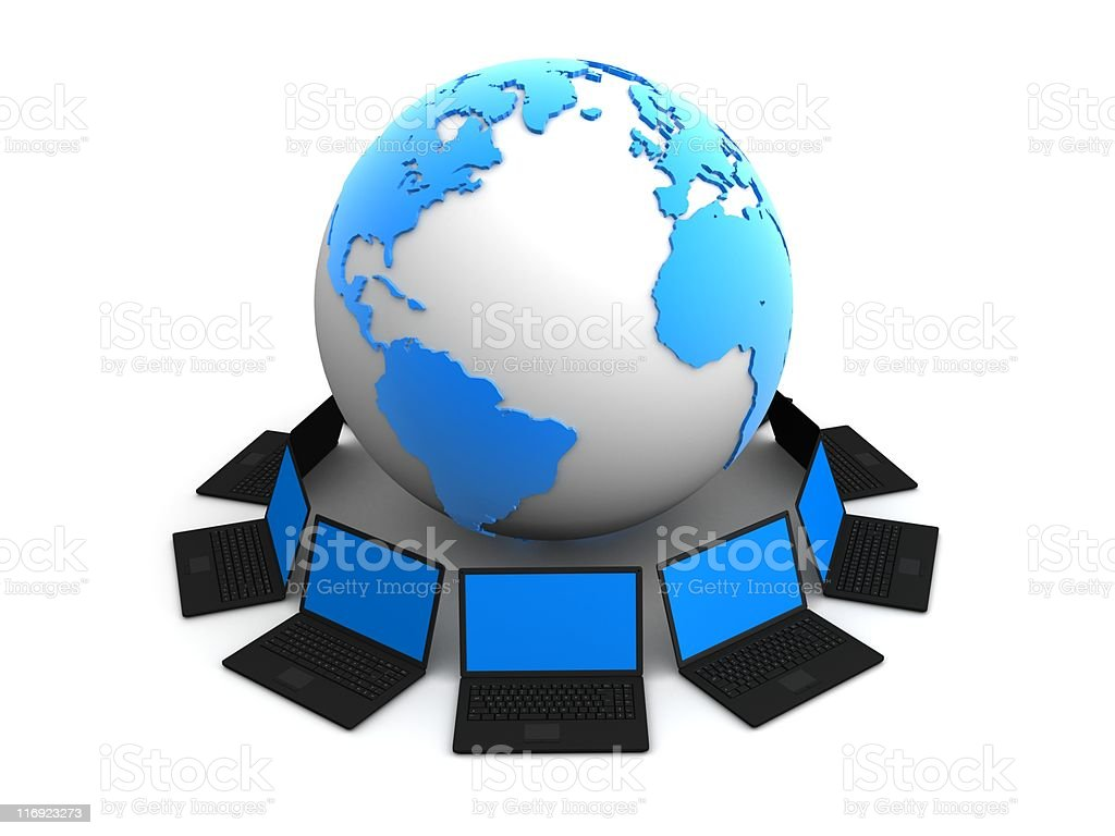 global network royalty-free stock photo