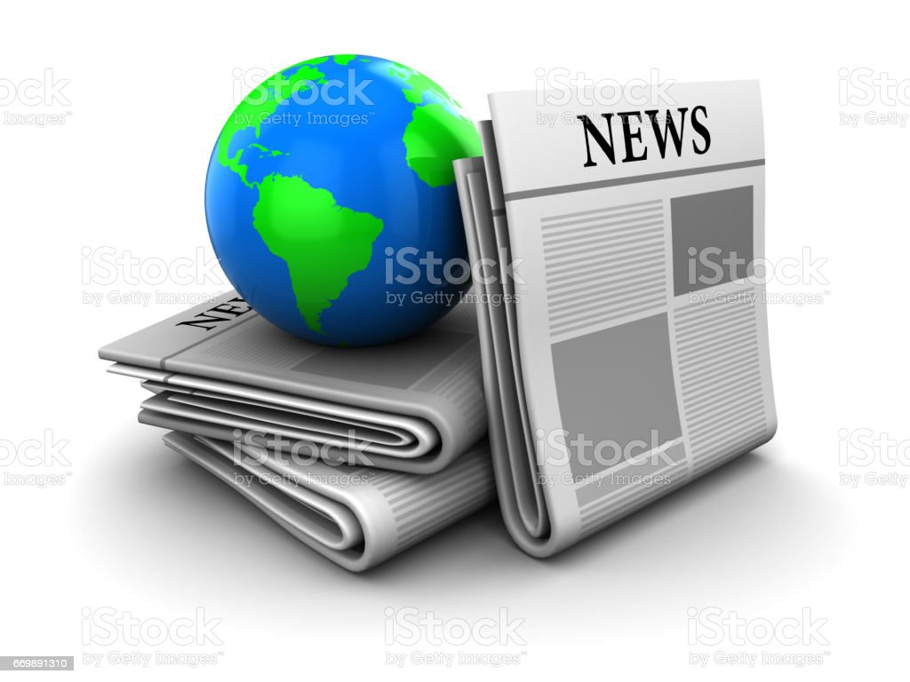 global news stock photo