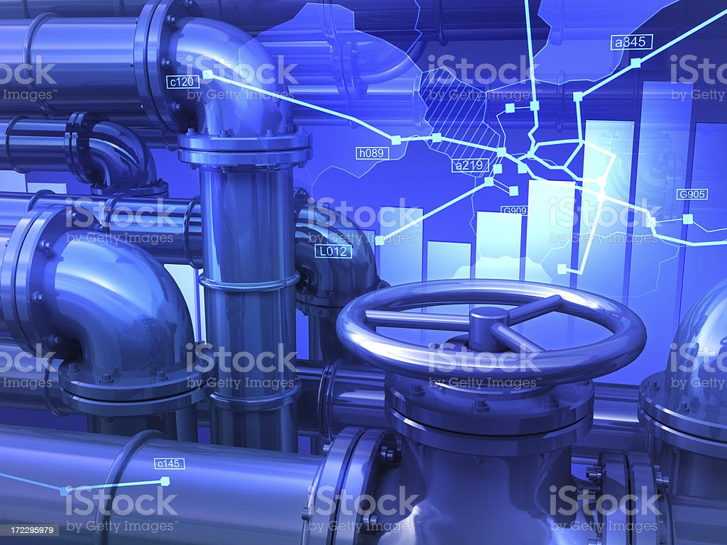 Global Oil royalty-free stock photo