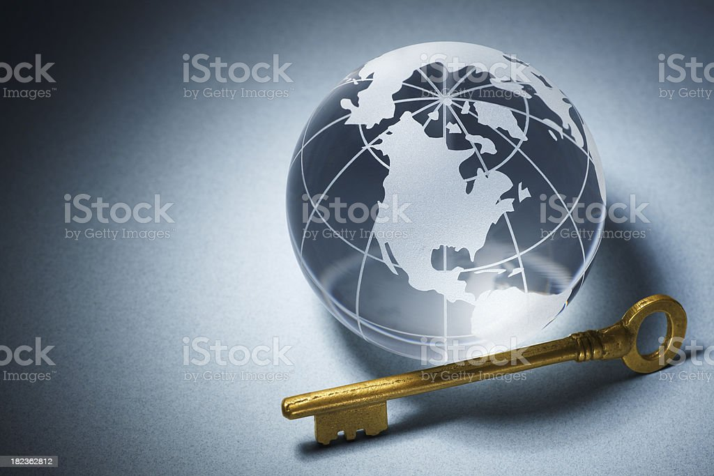 Global Opportunity royalty-free stock photo
