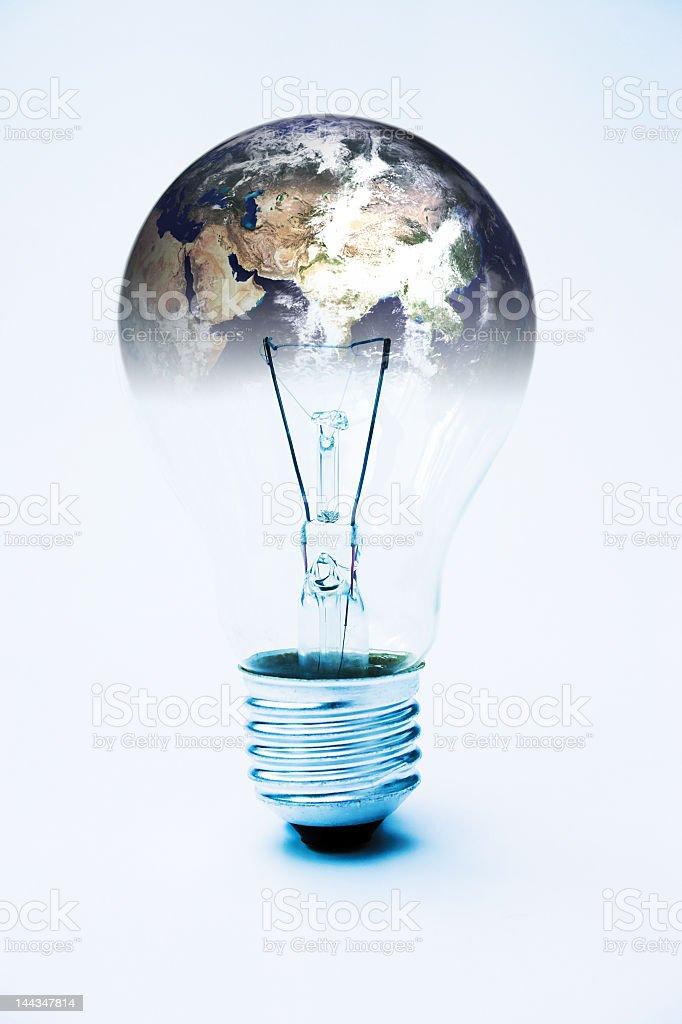 Global power royalty-free stock photo