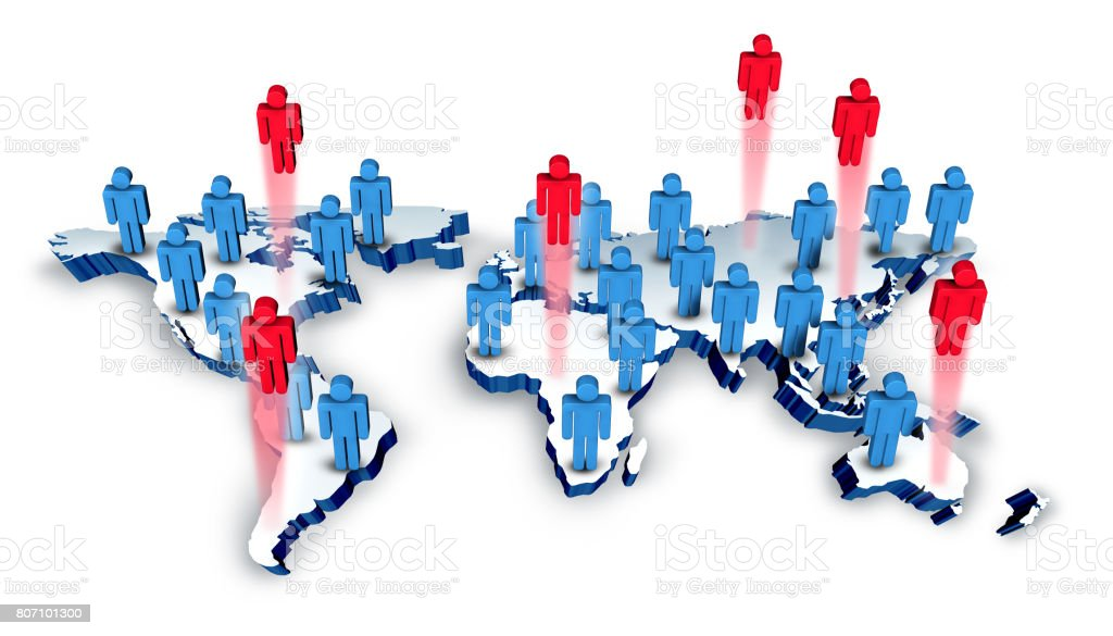 Global Recruitment stock photo