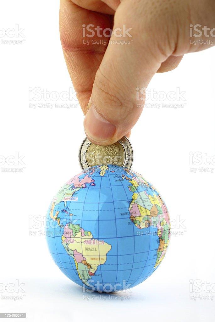 Global saving stock photo