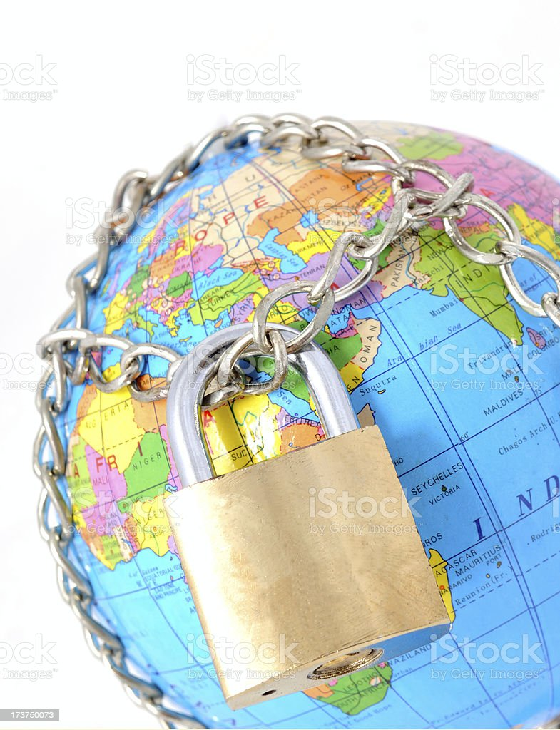 global security royalty-free stock photo