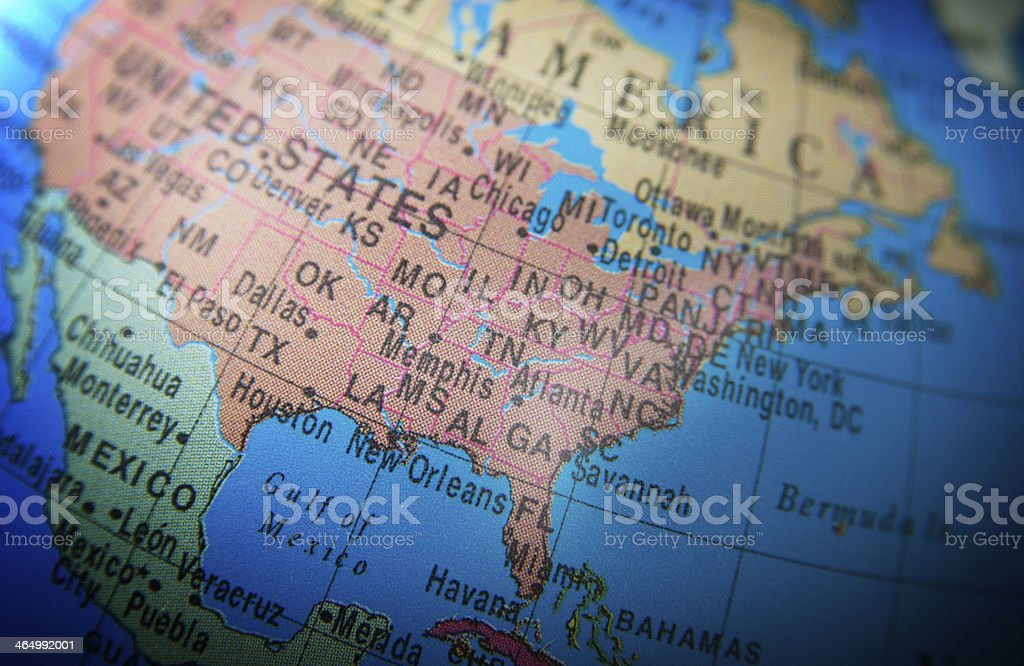 Global Series: United States of America royalty-free stock photo