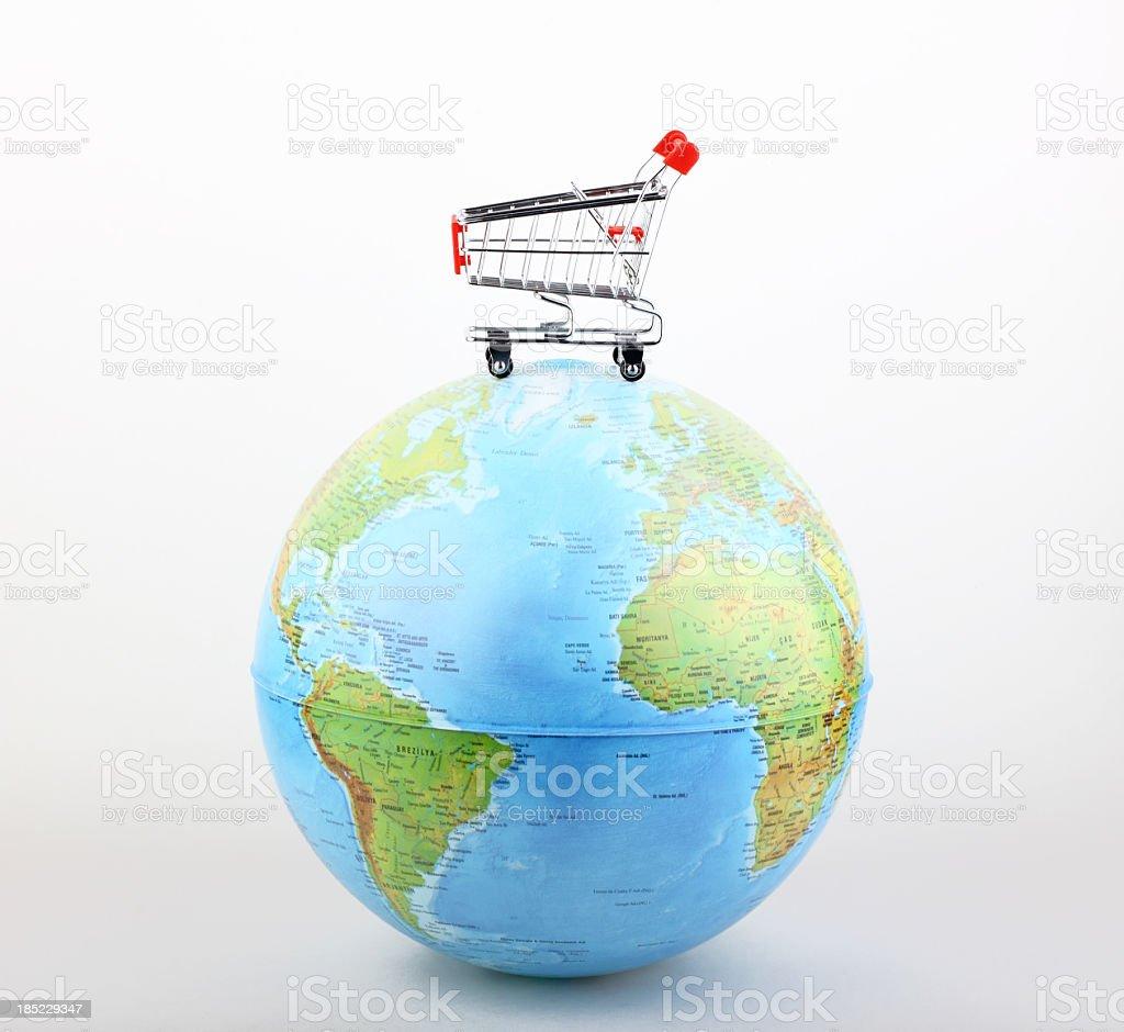 Global Shopping royalty-free stock photo