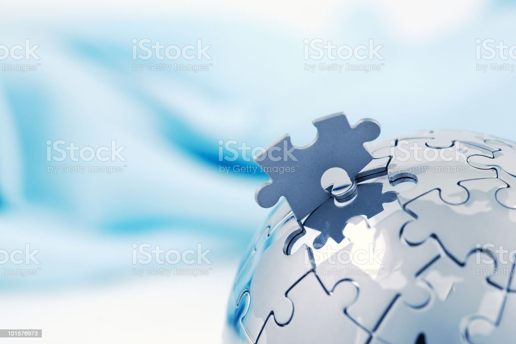 Global solution stock photo