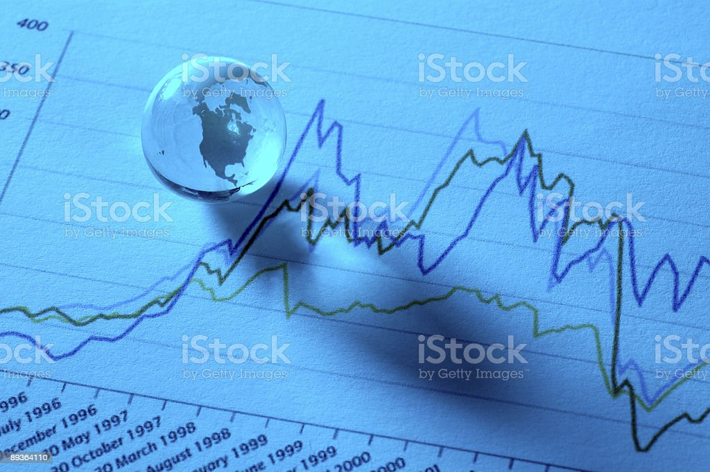 Global Stock Markets stock photo