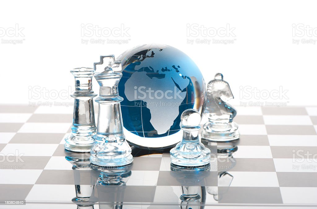 Global Strategy concept royalty-free stock photo