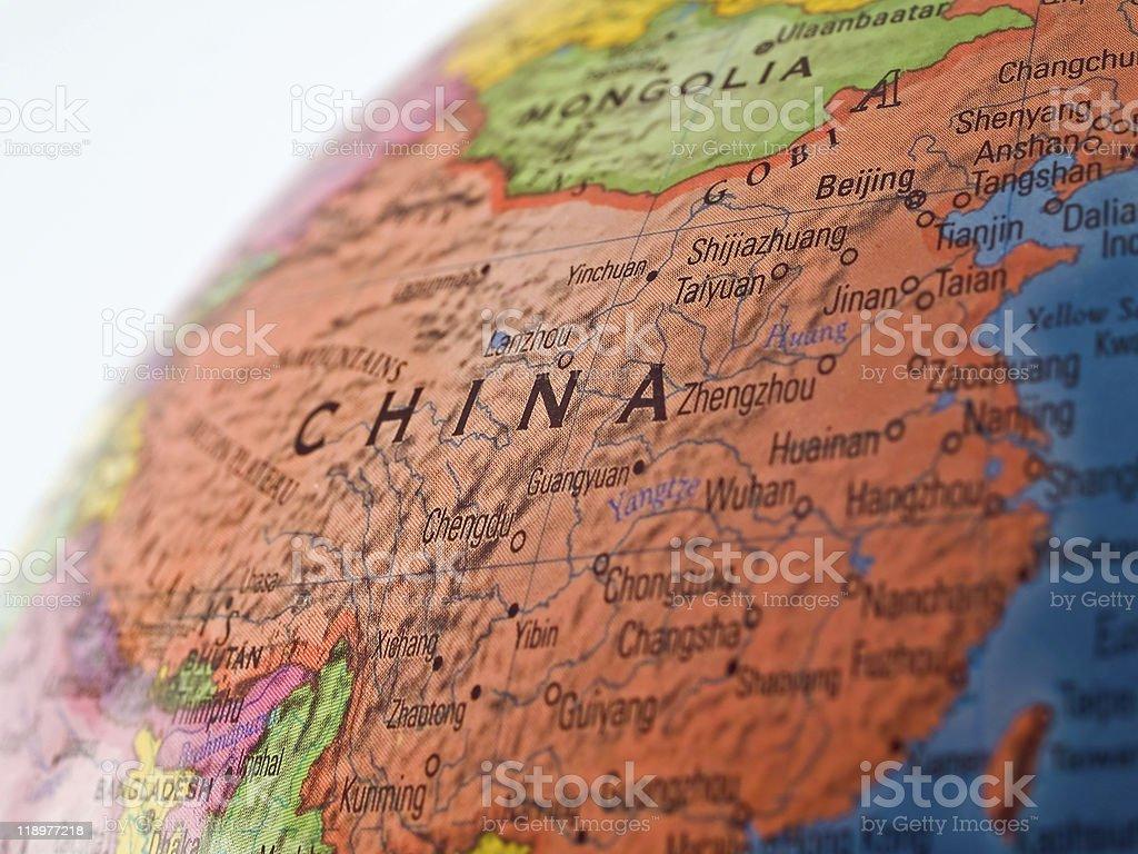 Global Studies - Focus on China stock photo