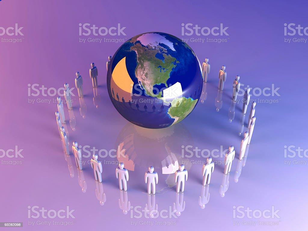 Global Teams - Americas royalty-free stock photo