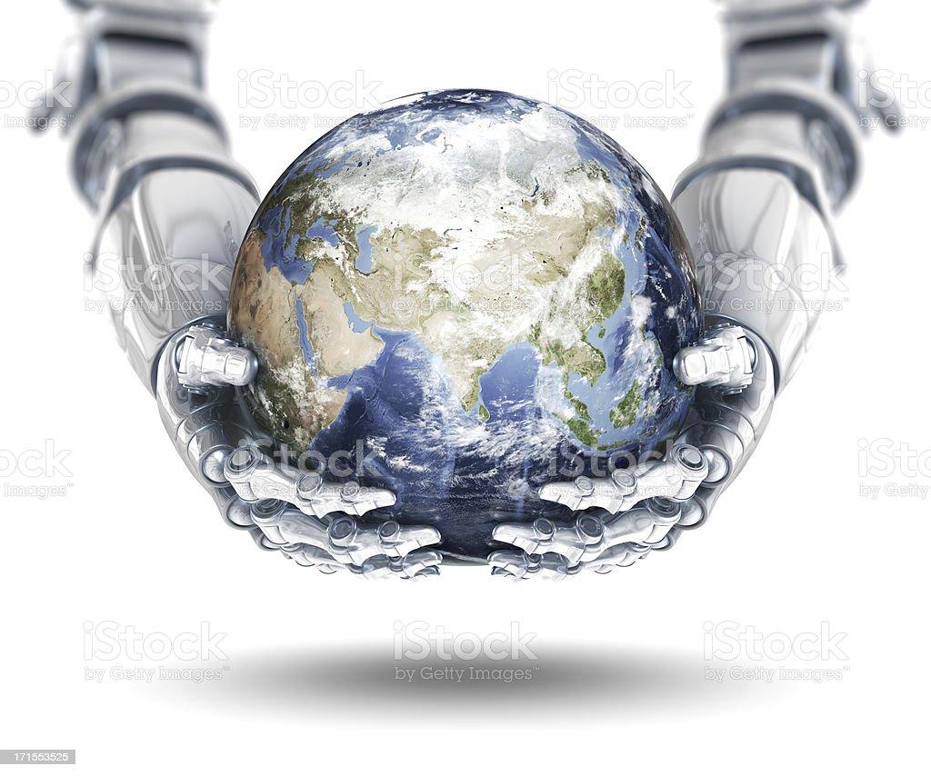 Global Technology - Eastern Hemisphere stock photo