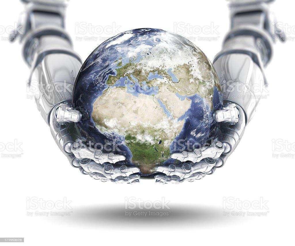 Global Technology - European Eastern Hemisphere stock photo