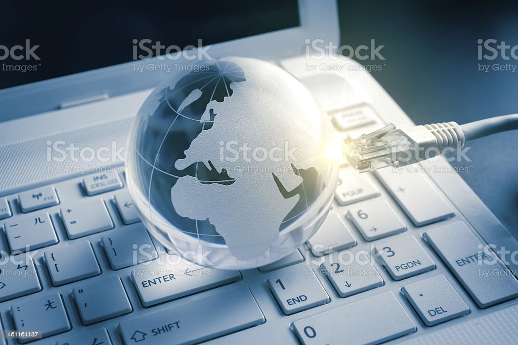 global technology royalty-free stock photo