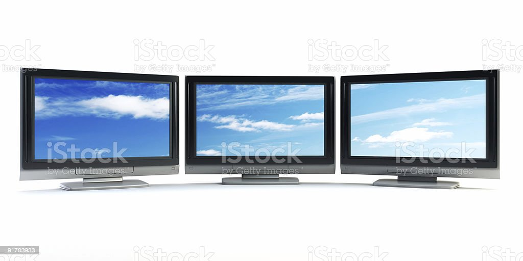 global television concept royalty-free stock vector art