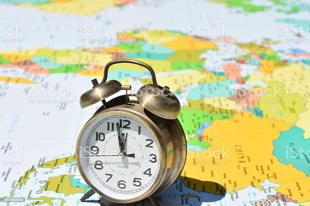 Global Time Concept stock photo