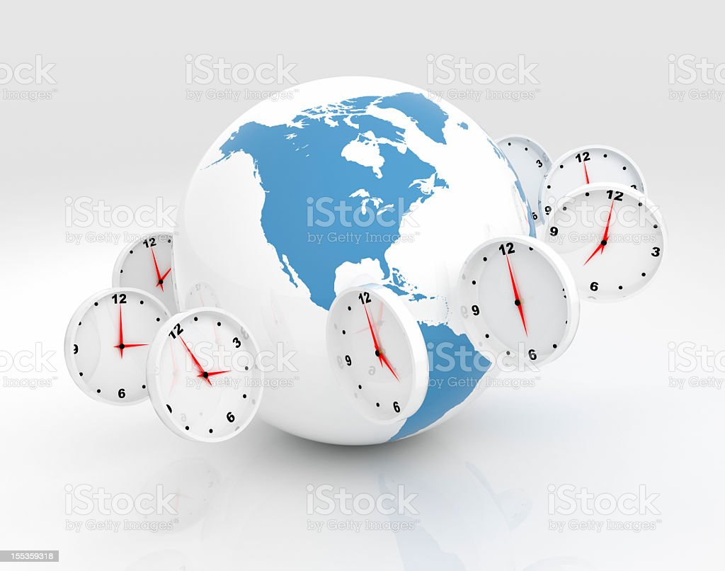 Global Time royalty-free stock photo