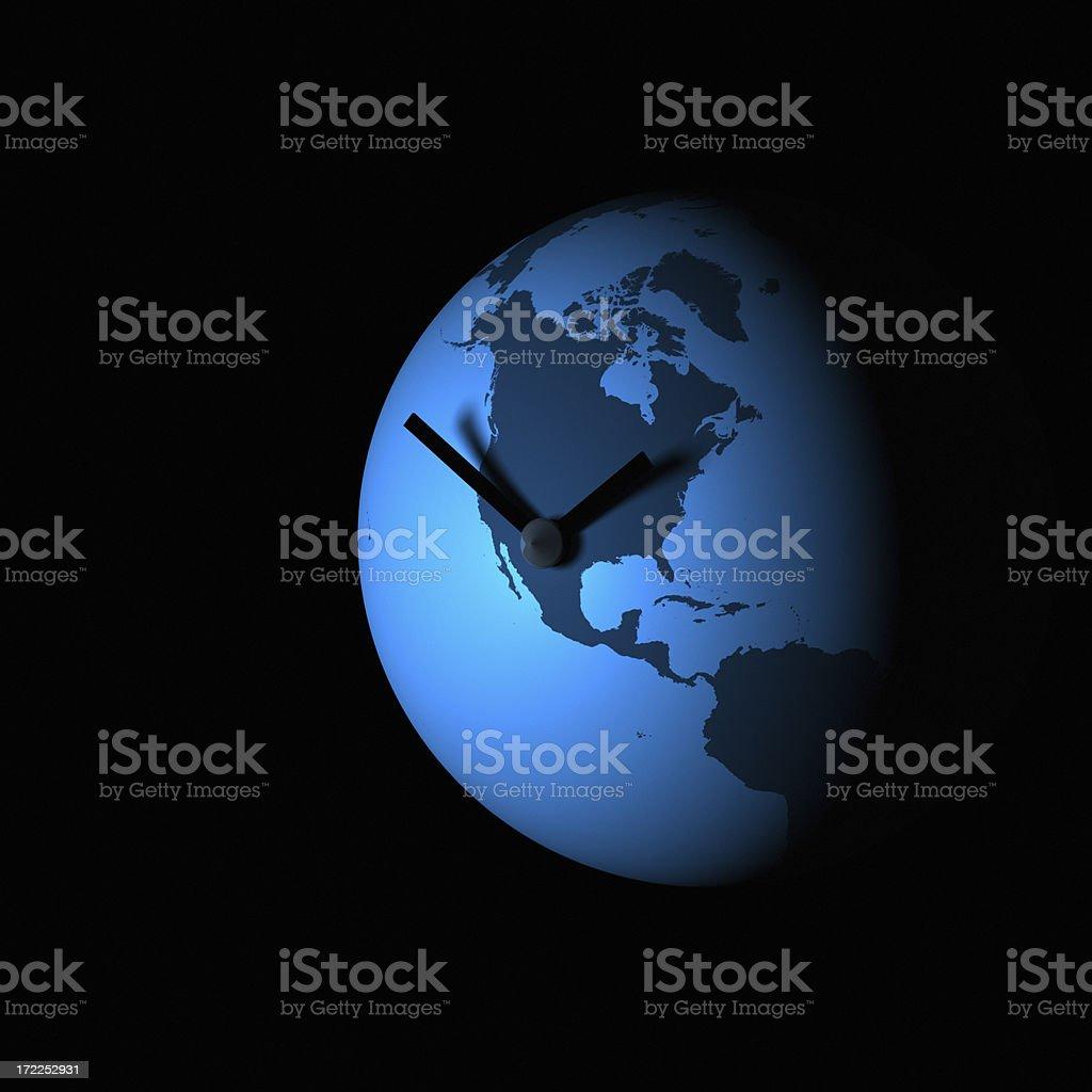 Global Time XXL royalty-free stock photo