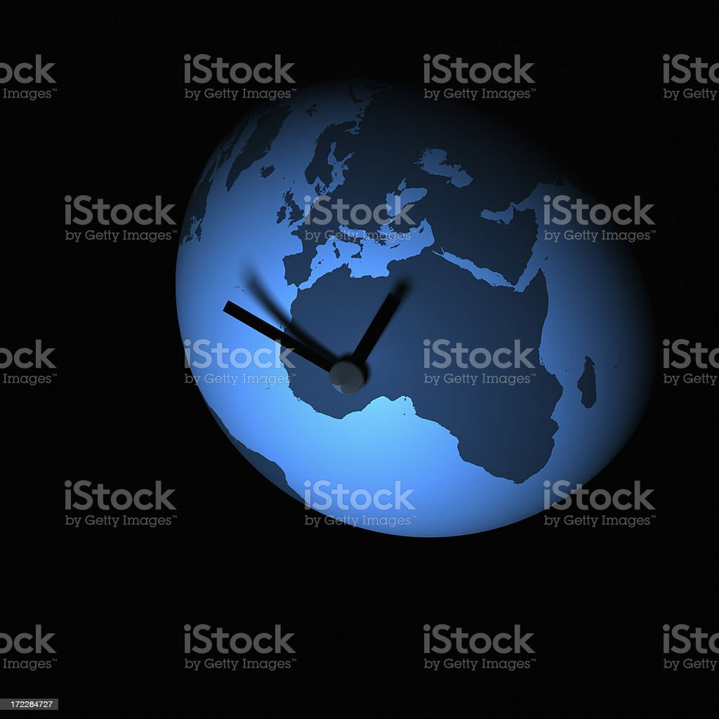 Global Time XXL stock photo