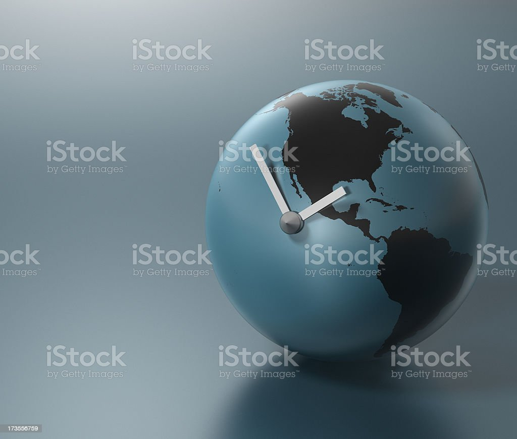 Global Time (Americas) XXL royalty-free stock photo