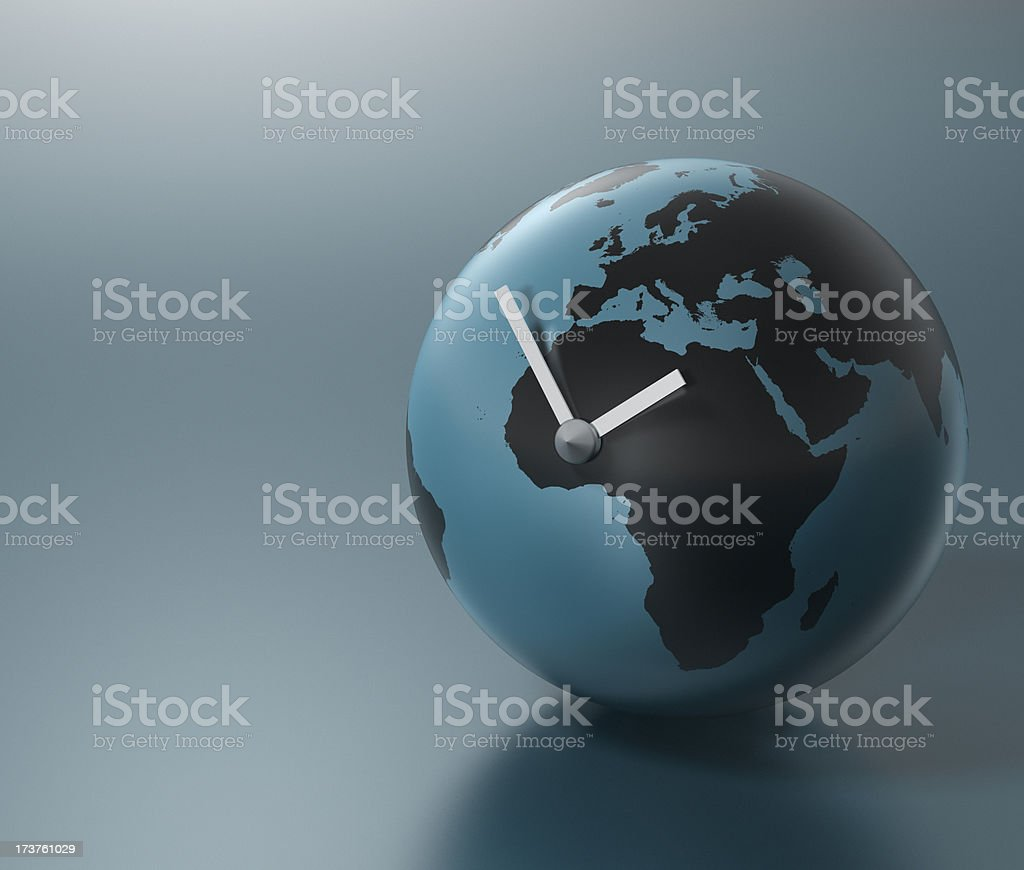 Global Time (Europe and Africa) XXL stock photo